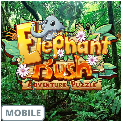 Play Elephant Rush Mobile Game on GAWOONI.GAMES!